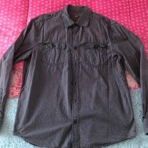 Old Navy Men's Long Sleeve Button Down shirt